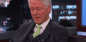 Was President Clinton lying about aliens while appearing on Jimmy Kimmel?