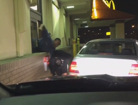 mcdonalds fight